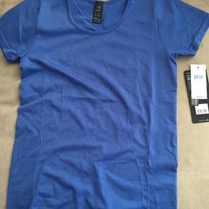 Long blue athletic top from MPG  M/L. Never worn